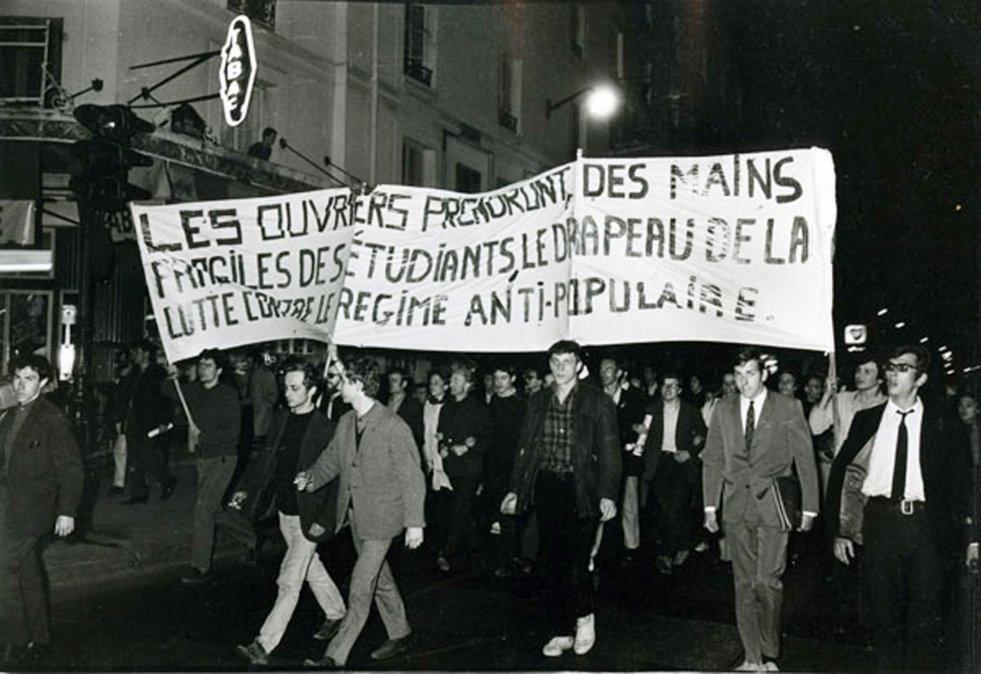 Levantamiento de los estudiantes franceses - 1968