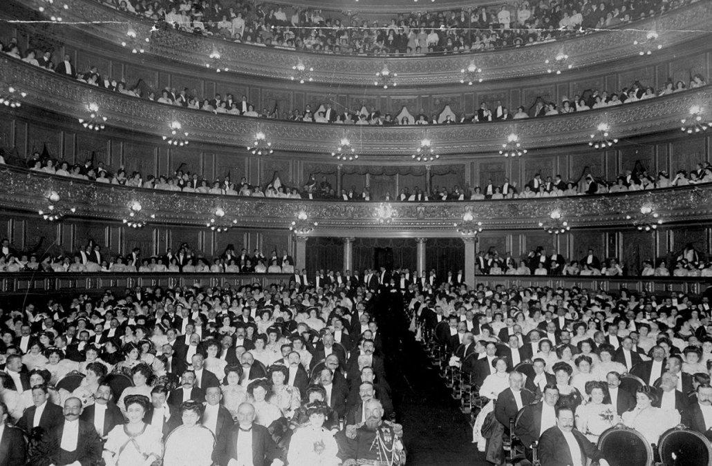 Inauguración nuevo Teatro Colón - Ópera Aída de G. Verdi -1908.