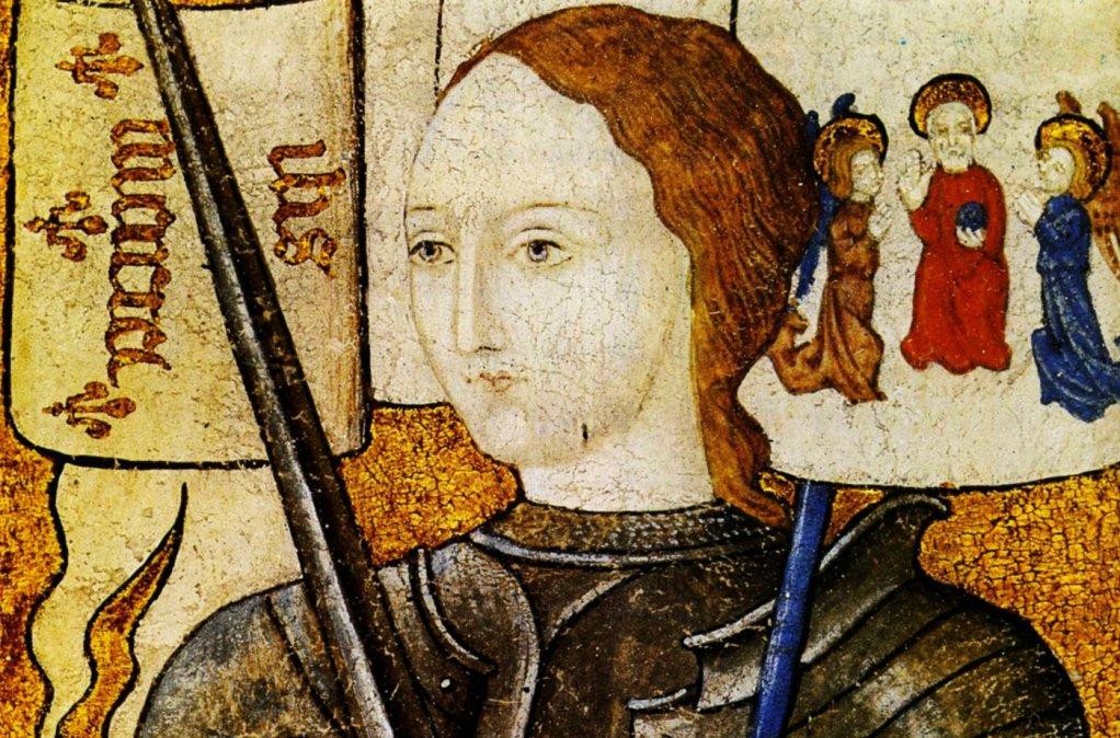 Óleo sobre pergamino del siglo XV