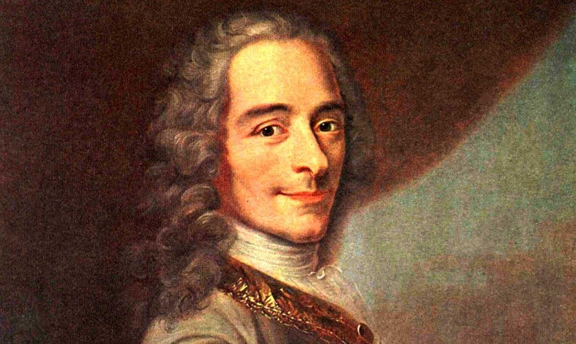 Voltaire, un filósofo disperso