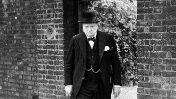 La muerte de Winston Churchill