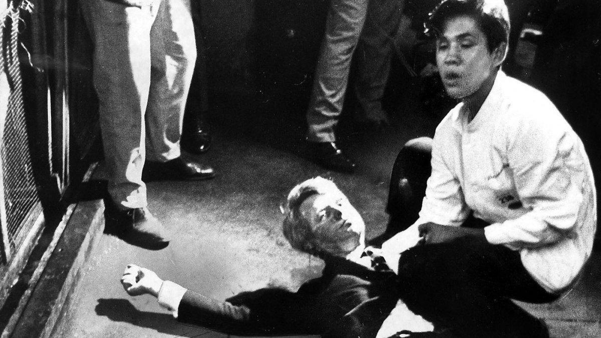 La muerte de Robert Kennedy