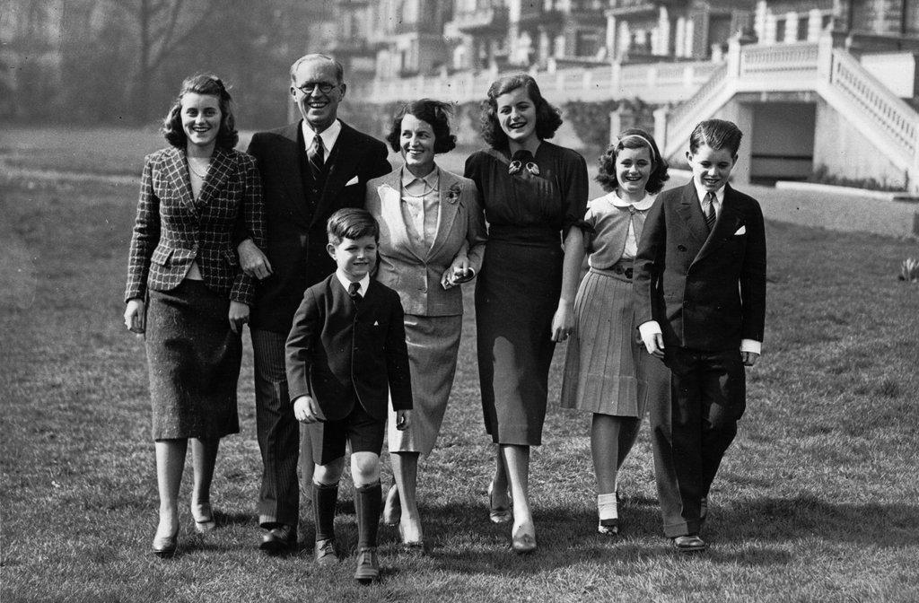 El embajador Joseph P. Kennedy y su esposa