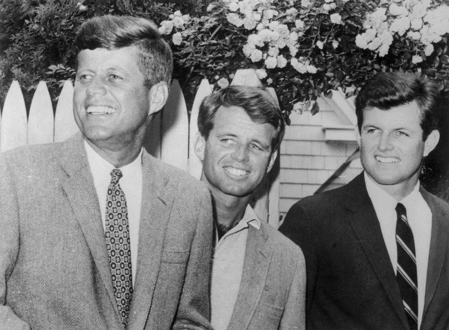 Los hermanos Kennedy.
