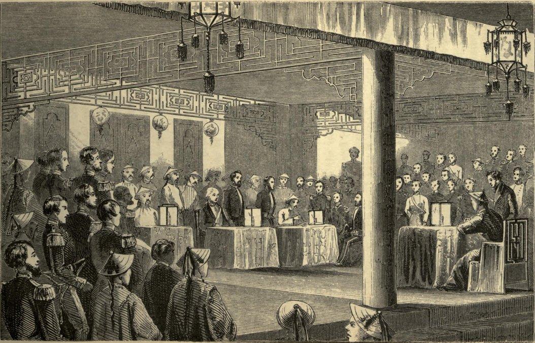 Tratado de Nankín.