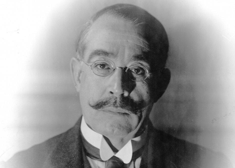 Retrato de Leopoldo Lugones.