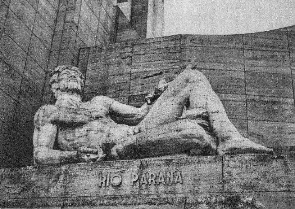 Detalle del Monumento a la Bandera Argentina