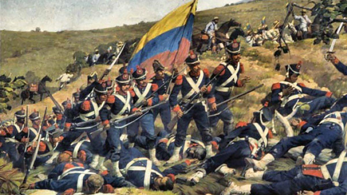 Salvadores de mi Patria»: La Legión Británica en Carabobo | Simón Bolívar,  batalla de Carabobo
