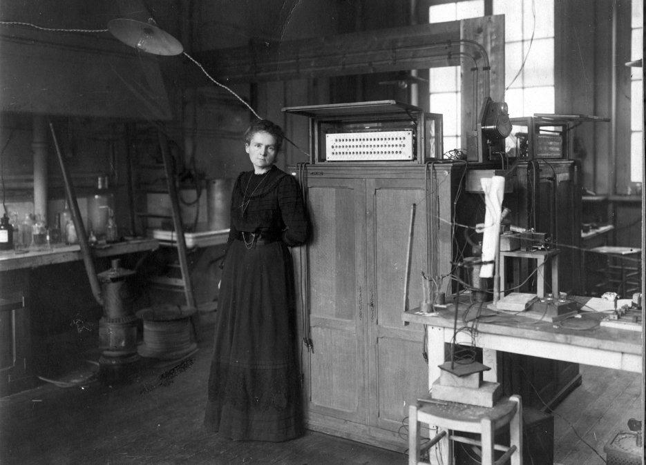 Marie Curie; una tesis doctoral para la Historia.