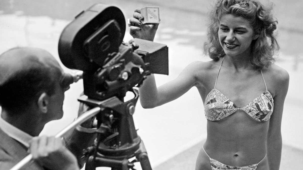 Esta bailarina de striptease se hizo famosa por ser la primera mujer en posar con un bikini.