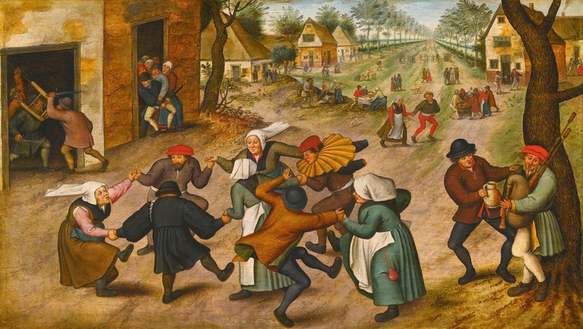 La extraña plaga del baile en 1518