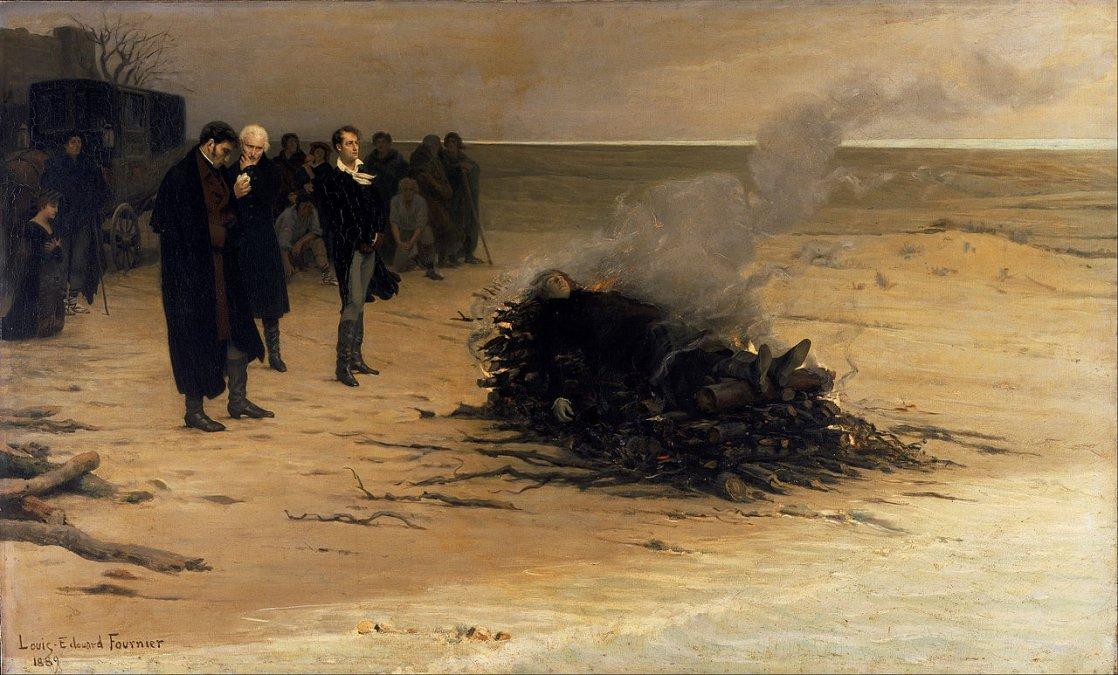 El funeral de Shelley
