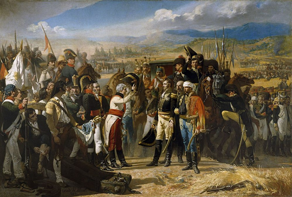 La Rendición de Bailén - José Casado del Alisal. Museo del Prado.