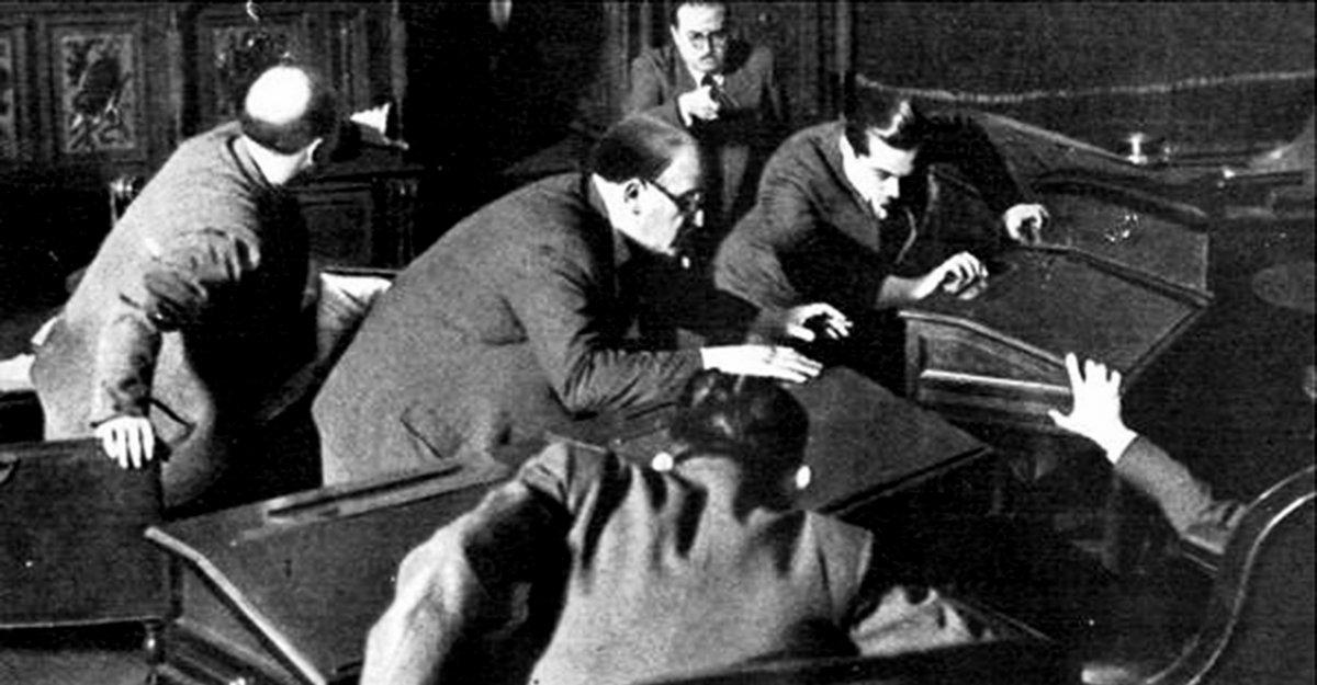 El asesinado de Enzo Bordabehere en el Senado de la Nación