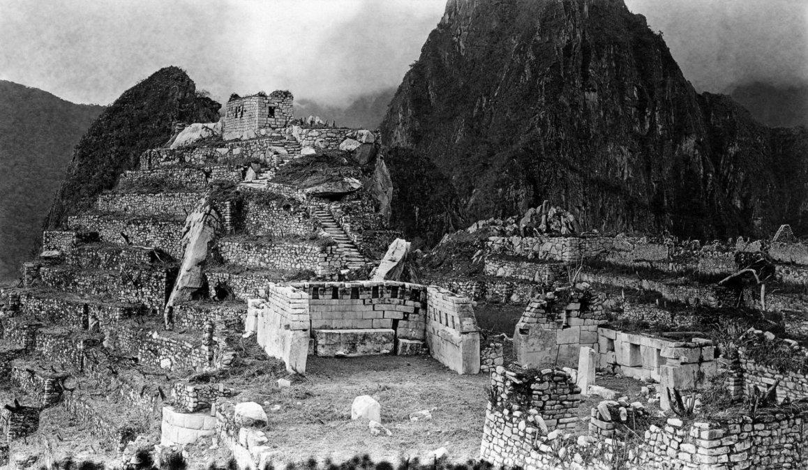 Poner a Machu Picchu en el mapa