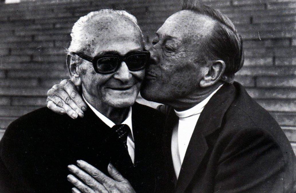 El Maestro y el Polaco.