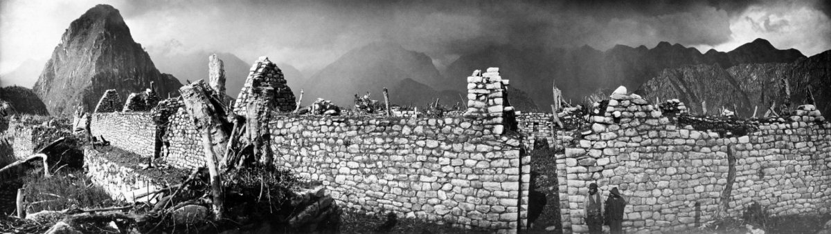 Re-descubrimiento de Machu Picchu por Hiram Bingham (1911).