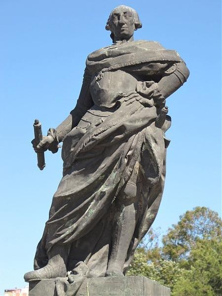 Escultura de Carlos III