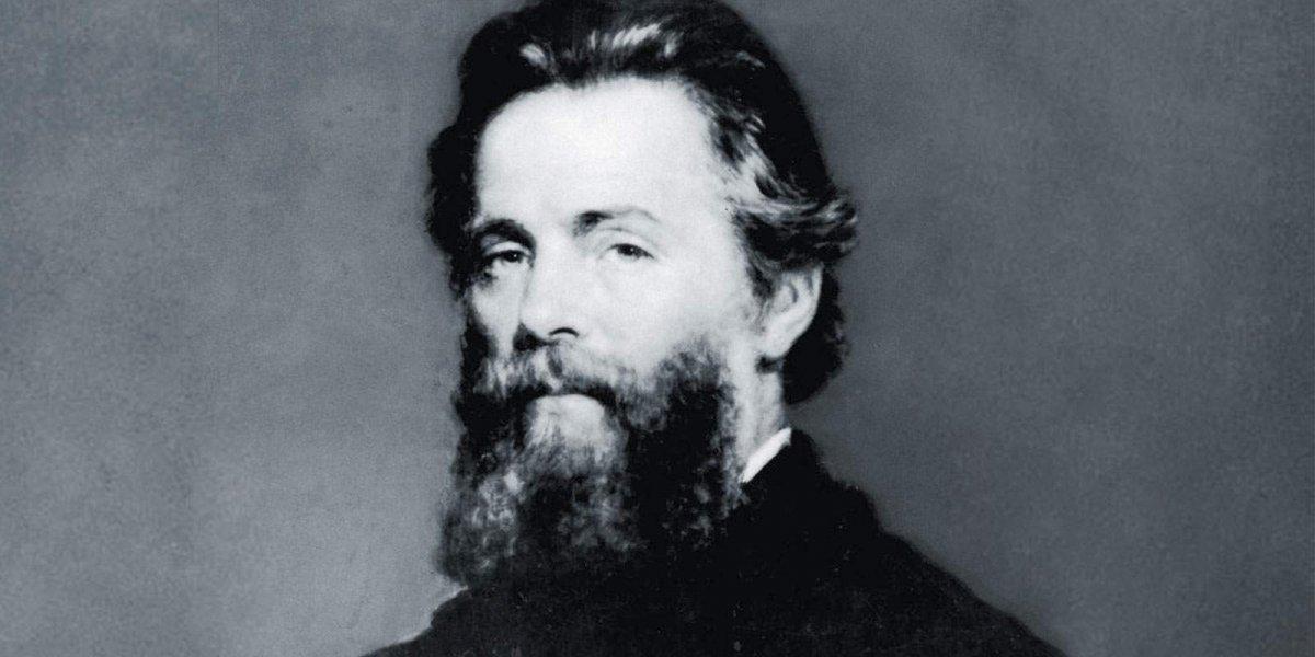 Entre caníbales y ballenas asesinas: Herman Melville y Moby Dick.