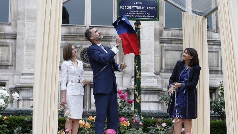 Cuando la bandera de la República Española flaméo sobre París
