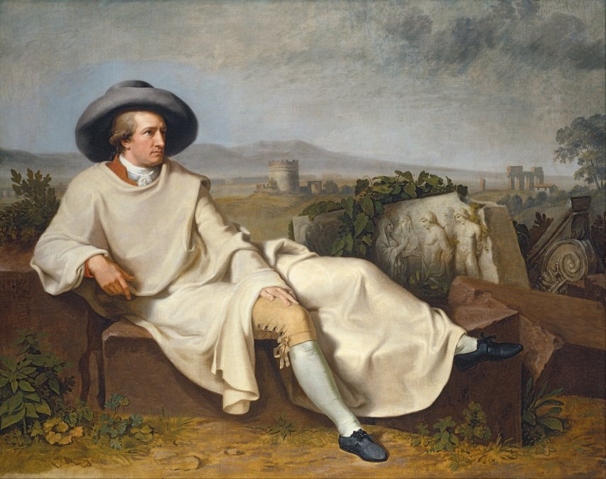 El romance según Goethe