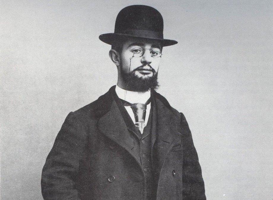 Henri De Toulouse-Lautrec en 1895.