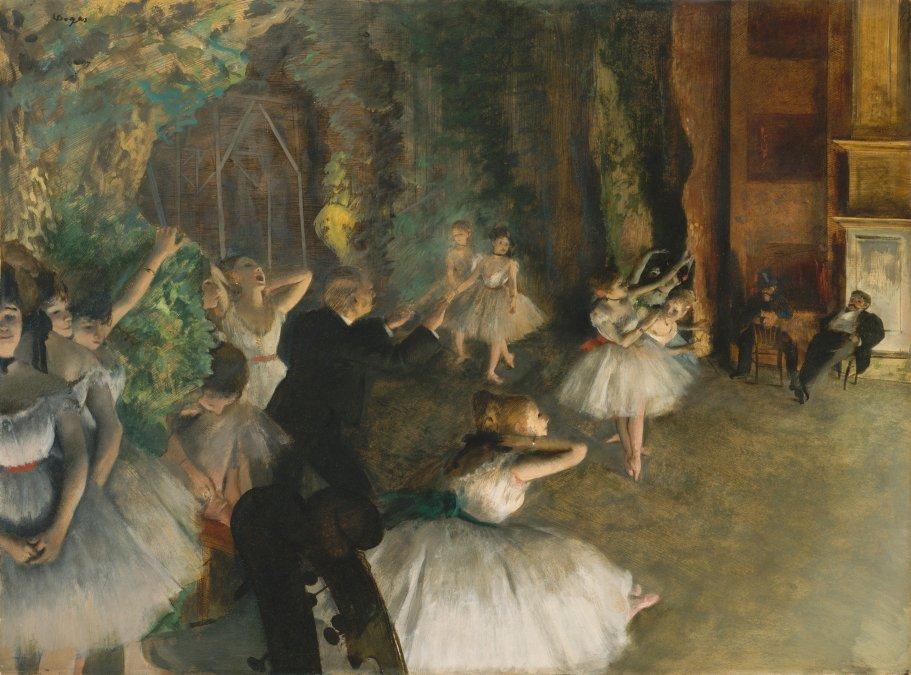Los ojos enfermos de Edgar Degas