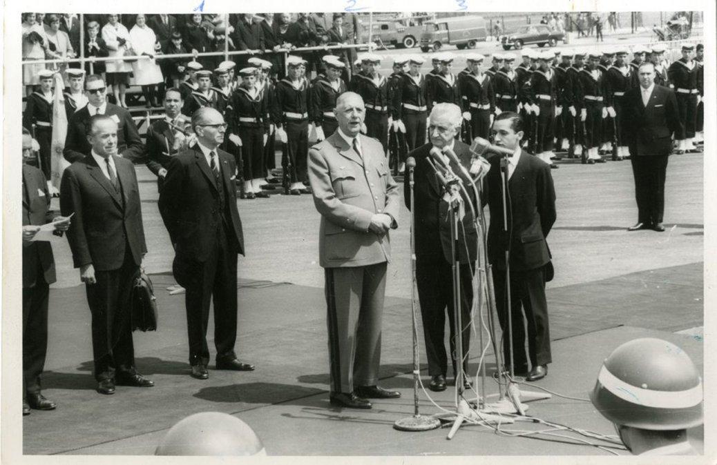 De Gaulle y Malraux en Buenos Aires