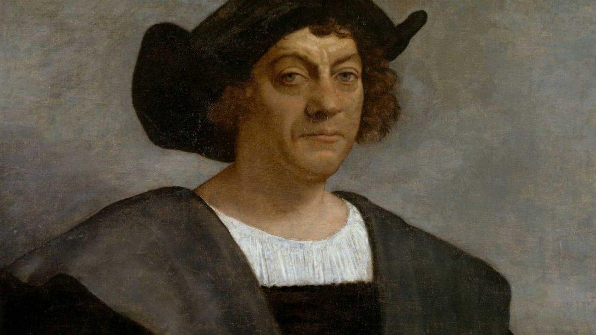 El retrato de Cristóbal Colón