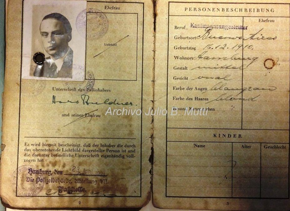 Horst Carlos A. Fuldner; el fugitivo