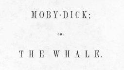 Portada de la primera edición de la novela en 1851.