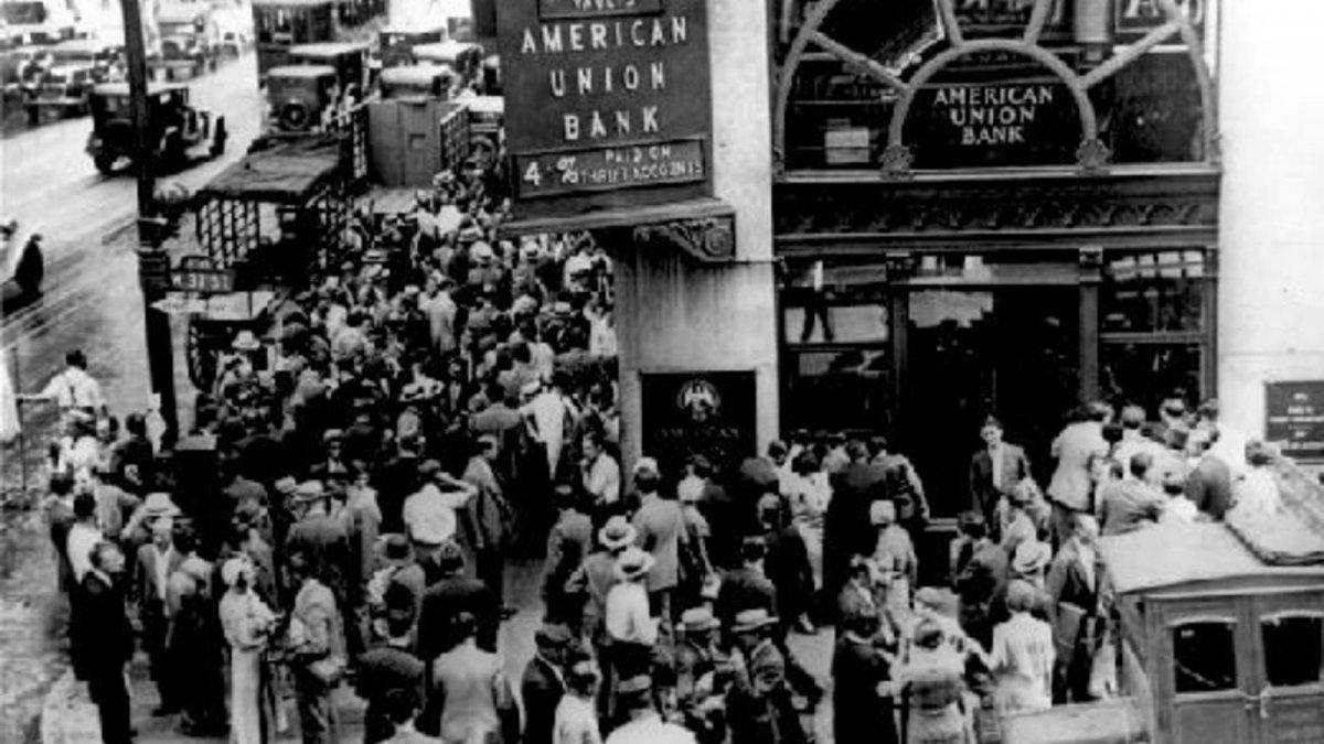Los días negros de octubre de 1929