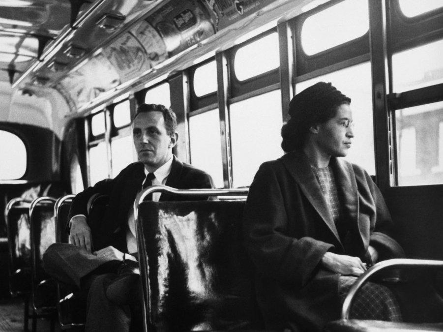 Rosa Parks y el asiento que cambió la historia