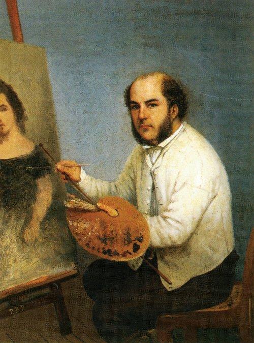 Autorretrato (1861) - Prilidiano Pueyrredón.