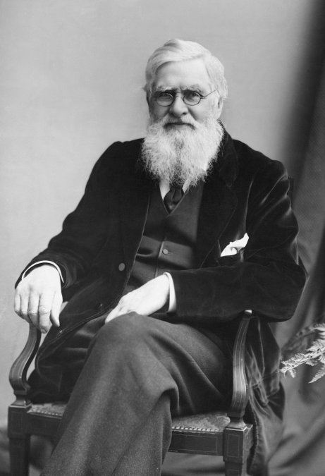 Alfred Russel Wallace.