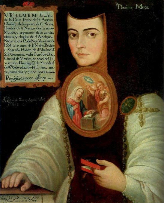 Retrato de Sor Juana