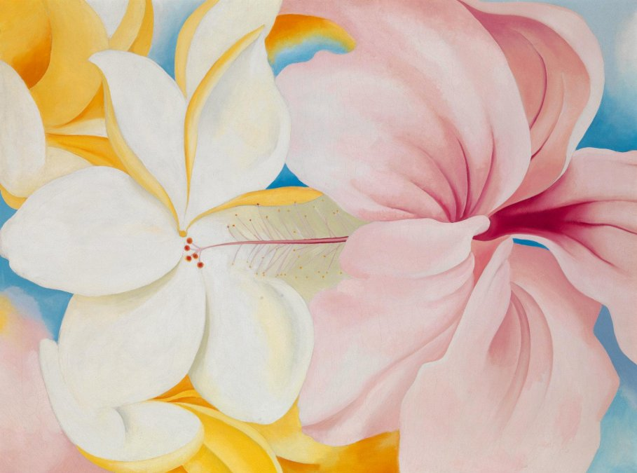 Las flores de Georgia OKeeffe