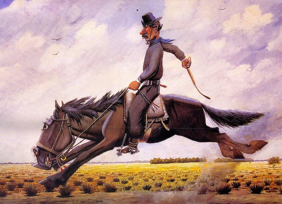 Molina Campos, el pintor de los gauchos