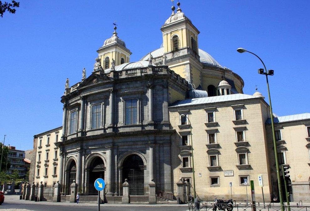 Basílica de San Francisco el Grande de Madrid (España).