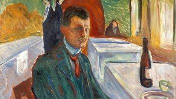Edvard Munch y sus aves interiores