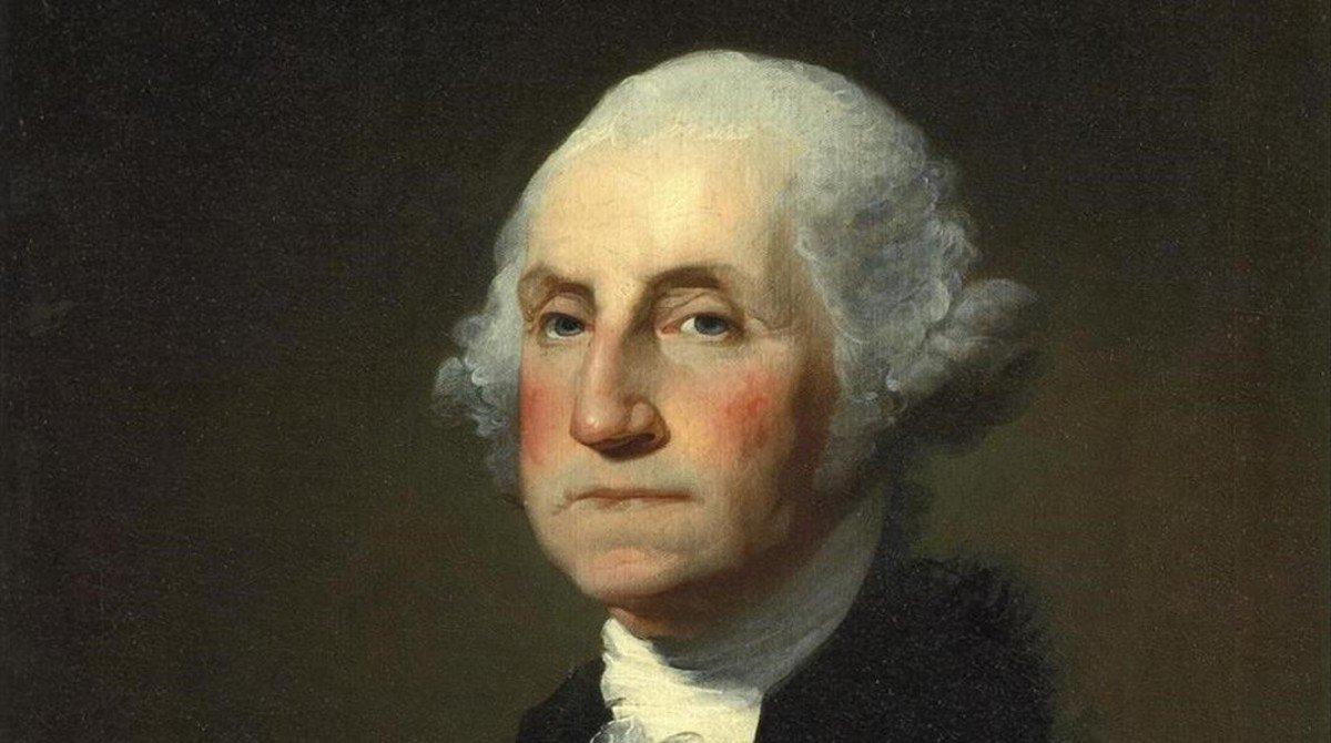 George Washington (22 de febrero de 1732 - 14 de diciembre de 1799).