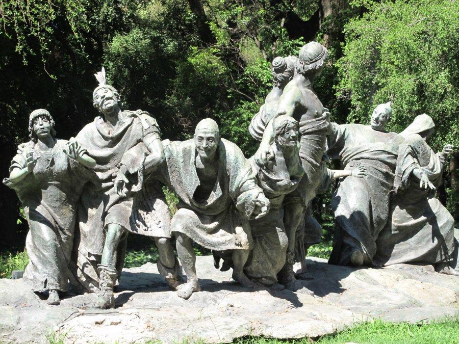 Saturnalia - Ernesto Biondi (1900) - Jardín Botánico Carlos Thays