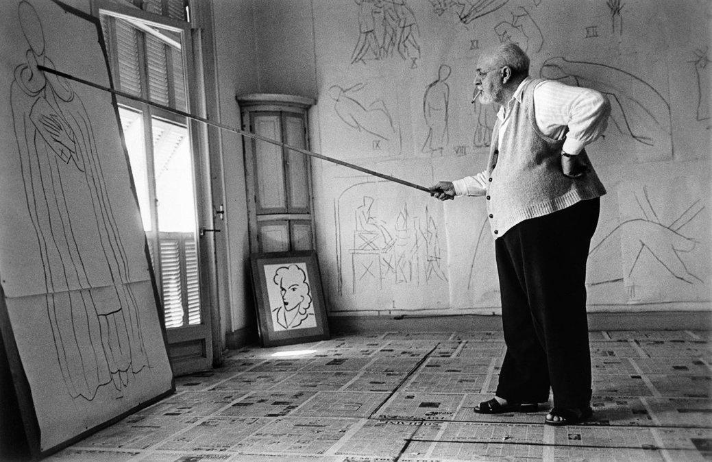Henri Matisse(31 de diciembre de 1869 - 3 de noviembre de 1954).