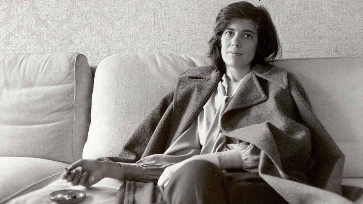 Susan Sontag(16 de enero de 1933 - 28 de diciembre de 2004).