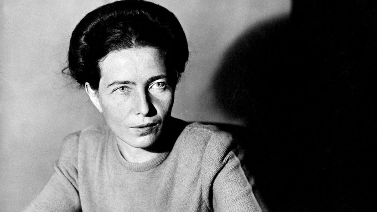 Simone de Beauvoir (París