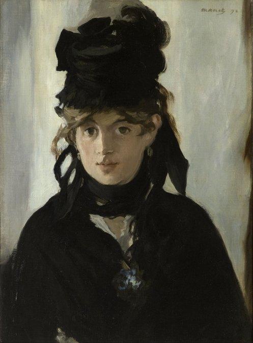 Berthe Morisotpor Édouard Manet (1870)Museo de Orsay.