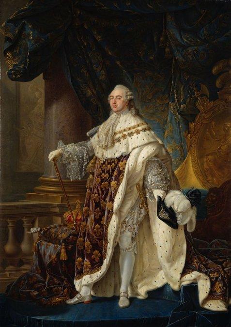 Luis XVI de Francia (23 de agosto de 1754 - 21 de enero de 1793).