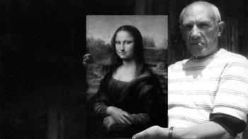 El día que acusaron a Picasso y Apollinaire de robar la Mona Lisa