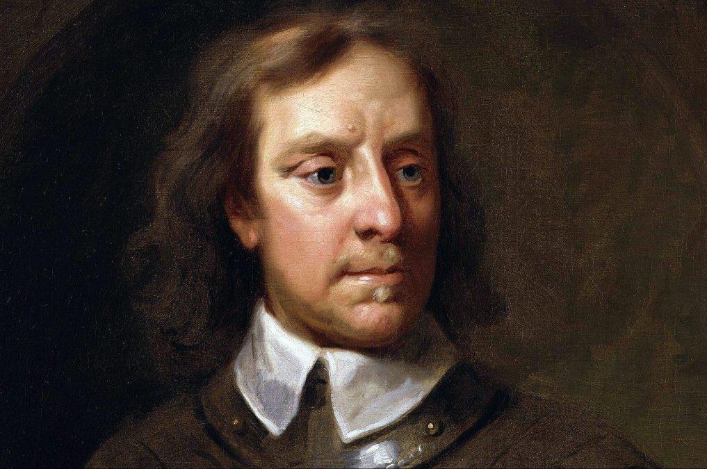 Oliver Cromwell(25 de abril de 1599 - 3 de septiembre de 1658).