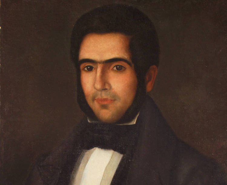 Retrato de Carlos Morel.